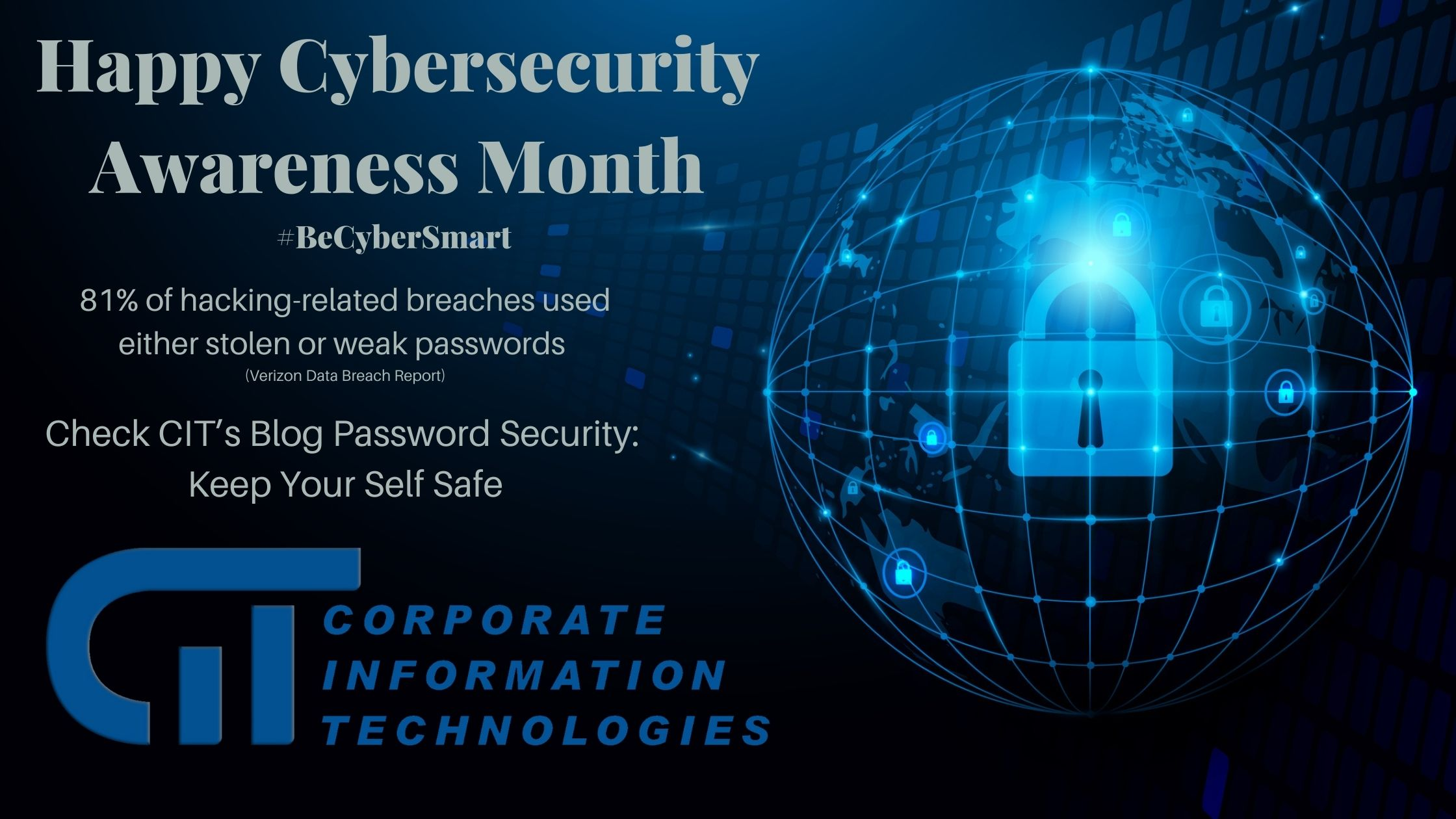 Happy Cybersecurity Awareness Month